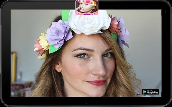Collage Crown Flowers apk screenshot