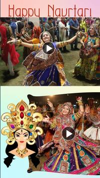 Navratri Video Maker With Music poster