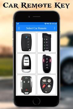 Car Key Lock Remote Simulator screenshot 1