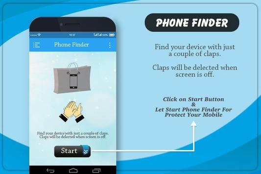 Phone Finder  : Clap To Find Phone poster