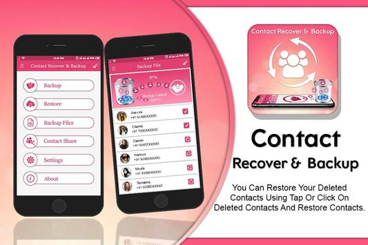 Recover All Deleted Contact & Sync poster