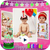 Birthday Video Maker icon