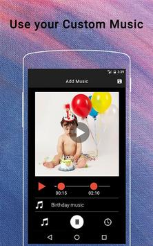 Birthday Video Maker apk screenshot