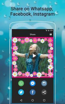 Rainy Photo Video Music Maker screenshot 4