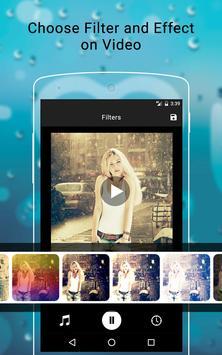 Rainy Photo Video Music Maker screenshot 2