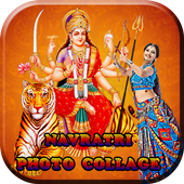 Navratri Photo Collage Editor icon