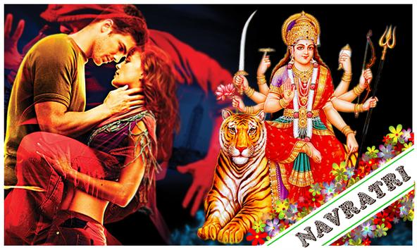 Navratri Photo Collage Editor poster