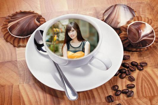 Coffee cup Photo frame apk screenshot