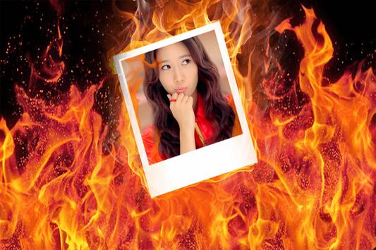 Fire Photo Frame screenshot 5