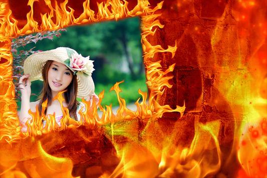 Fire Photo Frame screenshot 3