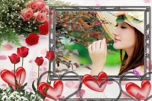 Flower Photo Frame poster