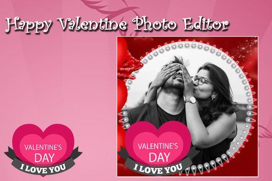 happy valentine photo editor screenshot 3