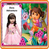Dora Adventure Photo Frame Editor App 2018 icon