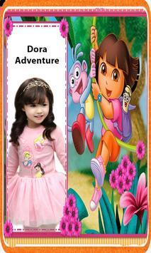 Dora Adventure Photo Frame Editor App 2018 poster