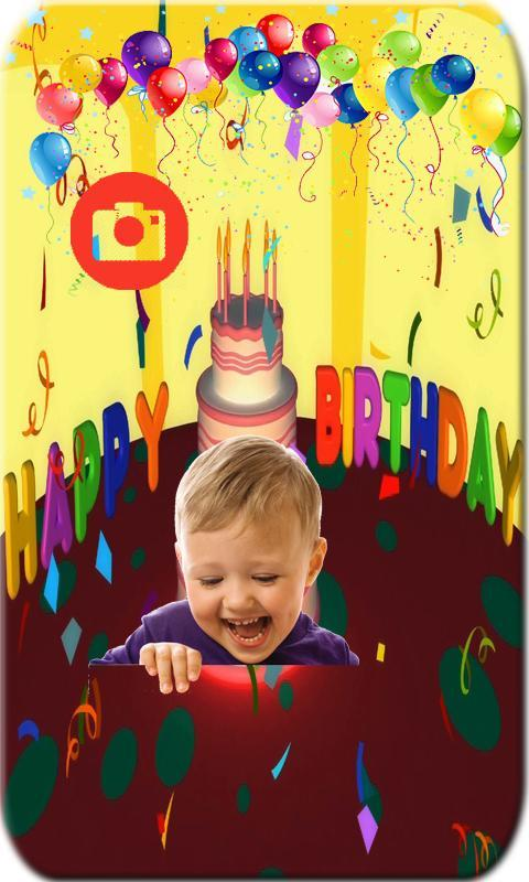 Happy Birthday Wishes Photo Frames Editor App For Android
