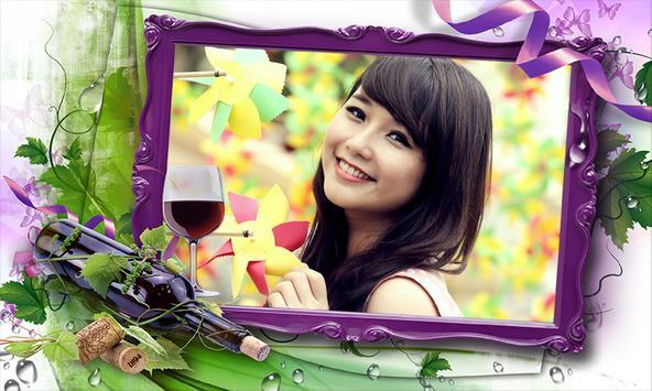 EDIT Flowers Photo Frames poster
