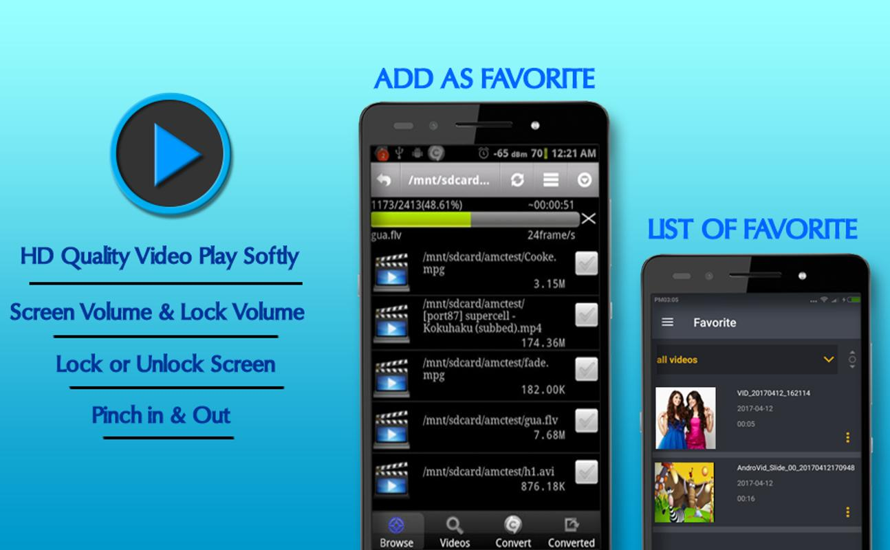 Video Players Software for Android - Free Software Apps and Games