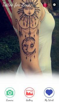 Love Tattoo poster