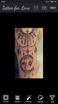 Love Tattoo apk screenshot