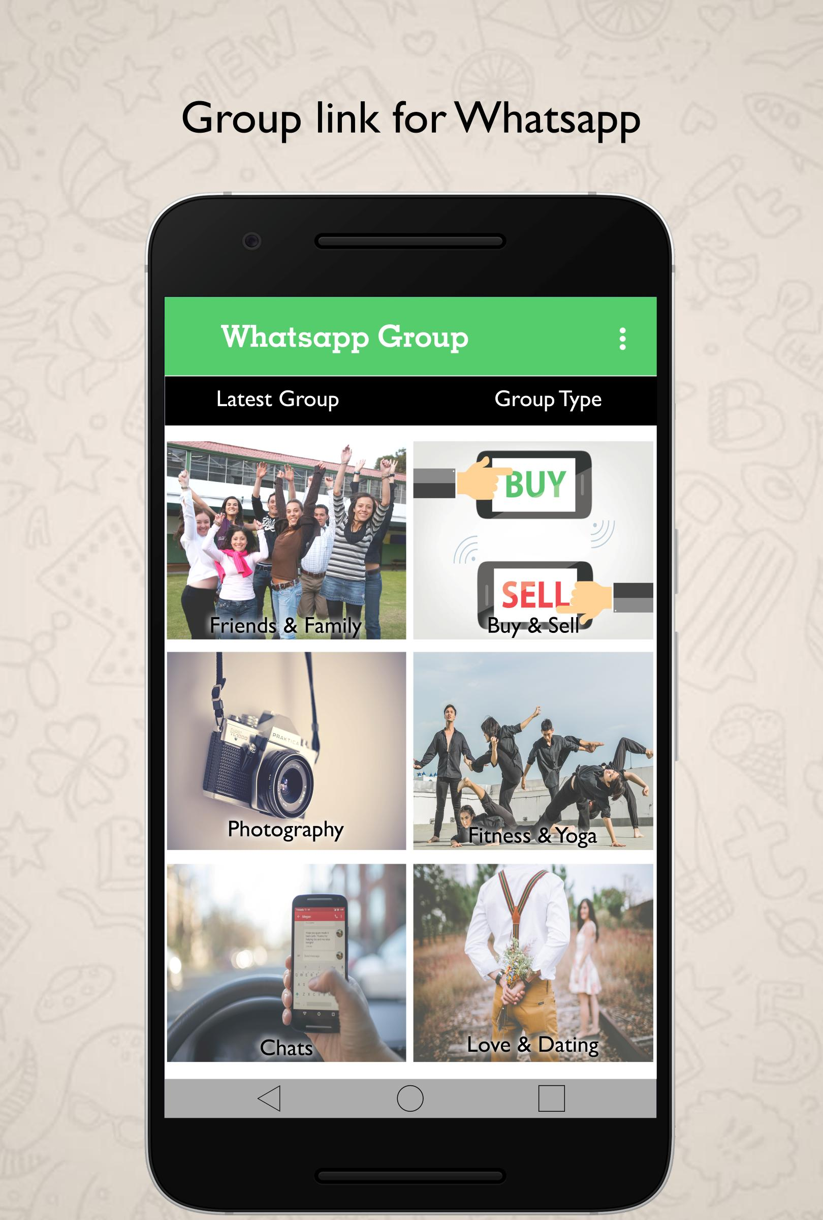 Friend Search group link For Whatsapp Number for Android