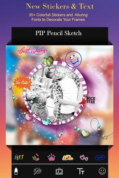 PIP Pencil Camera : Photo Editor apk screenshot