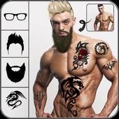 Beard & moustache Boys photo editor icon