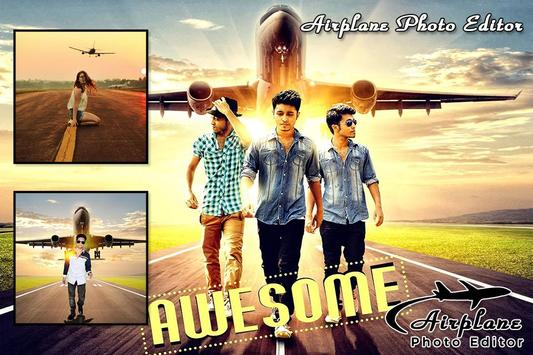 Airplane Photo Editor poster
