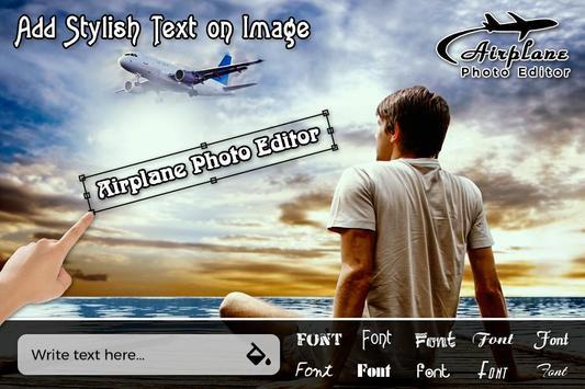 Airplane Photo Editor screenshot 1