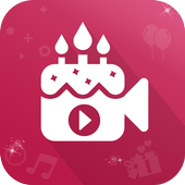 Birthday Photo to Video Converter icon