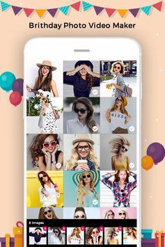 Birthday Photo to Video Converter poster