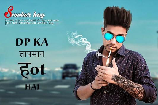 Smoker Boy Photo Editor : Smoke Photo Effect poster