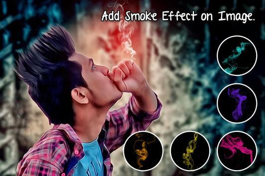 Smoker Boy Photo Editor : Smoke Photo Effect screenshot 1