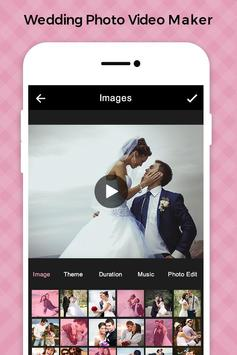 Wedding Photo Video Maker with Music poster