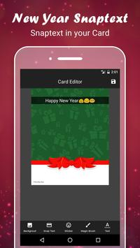 New Year Greetings Card 2017 screenshot 3
