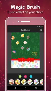 New Year Greetings Card 2017 screenshot 1
