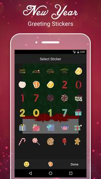New Year Greetings Card 2017 screenshot 2