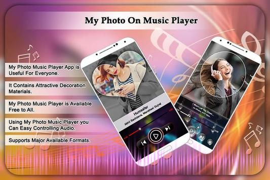 My Photo On Music Player poster