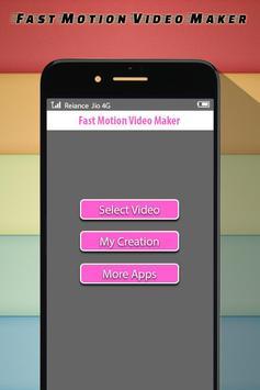 Fast Motion Video Maker poster