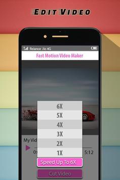 Fast Motion Video Maker apk screenshot