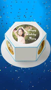 Photo On Birthday Cake apk screenshot