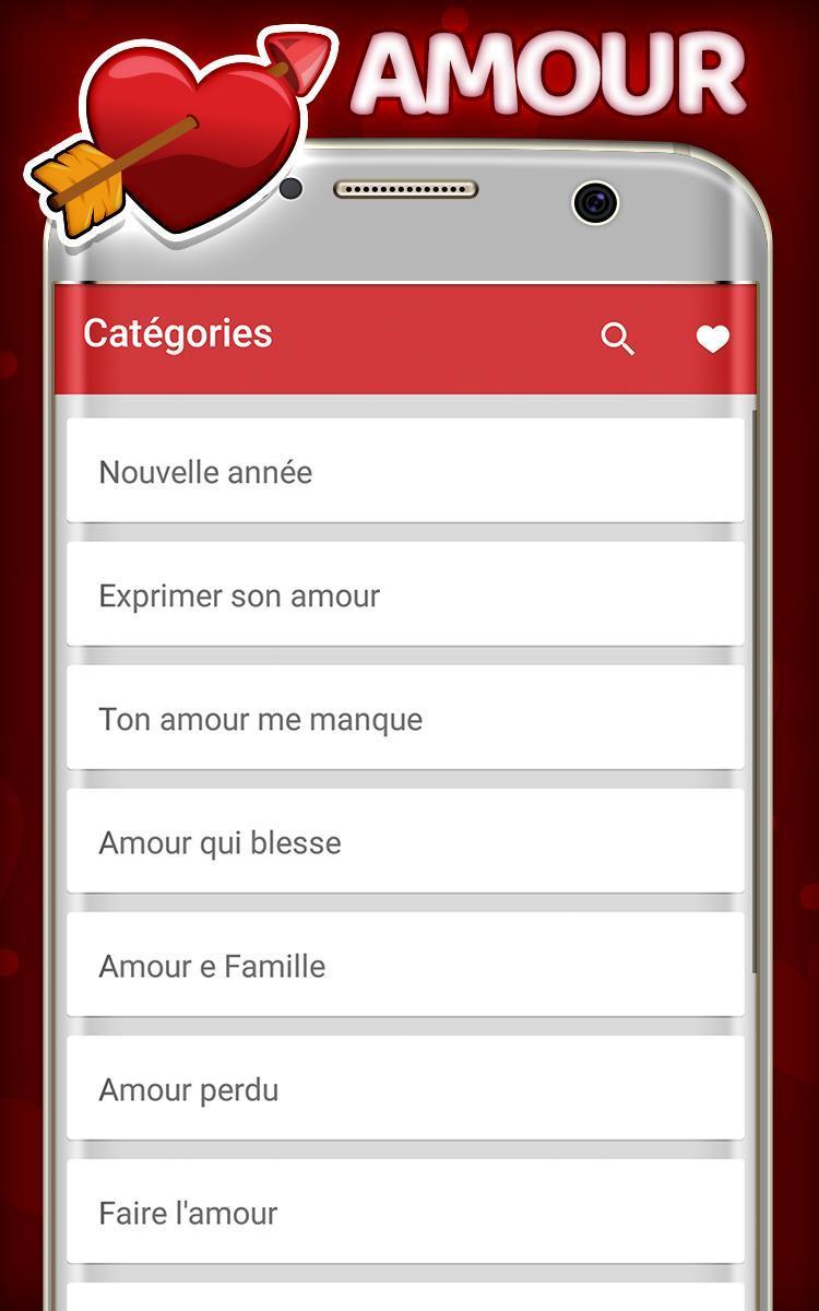 Les Meilleures Sms D Amour для андроид скачать Apk