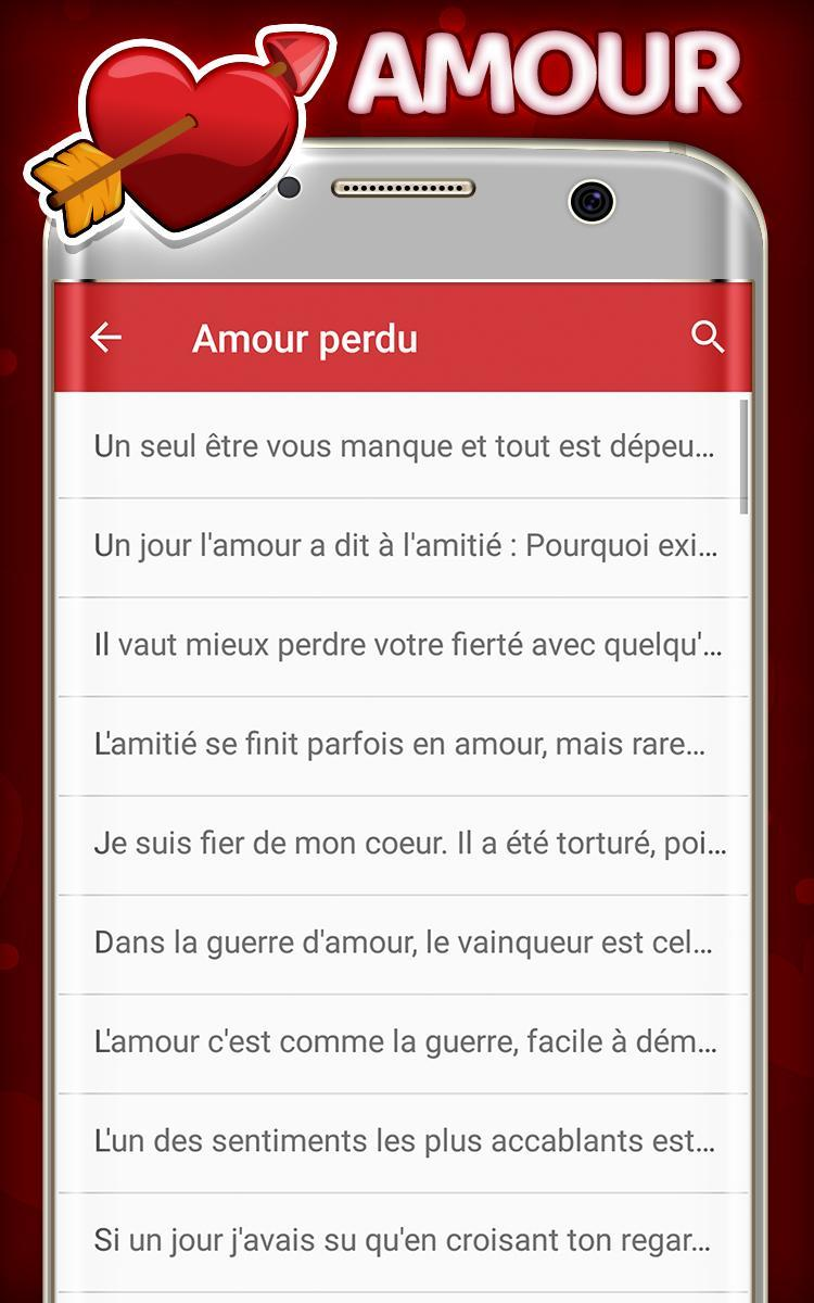 Les Meilleures Sms Damour For Android Apk Download
