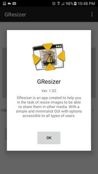 Gresizer apk screenshot