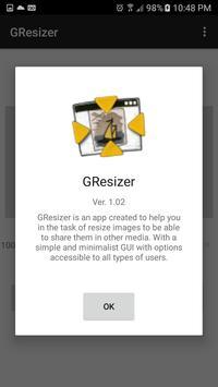 Gresizer screenshot 2