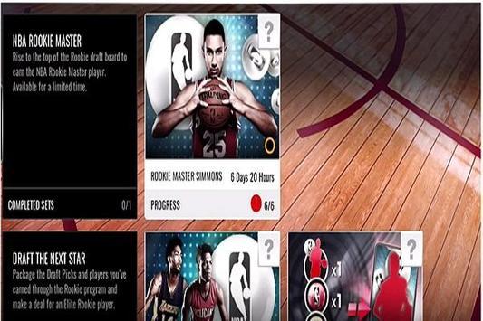 Trick nba live mobile basket poster