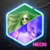 Neon Effect Photo Editor icon