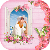 Flower Photo Frame icon