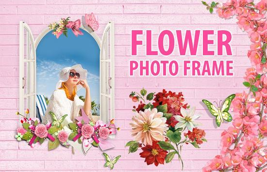 Flower Photo Frame screenshot 1