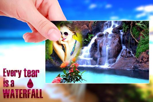 Waterfall Photo Frame screenshot 4