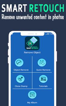 pixel retouch - remove unwanted content in photos screenshot 1